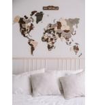 Margas medinis pasaulio žemėlapis