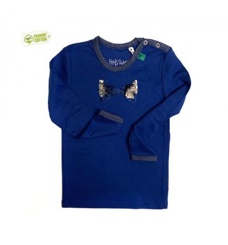 """Mėlyni marškinėliai """"Kaspinėlis"""""""
