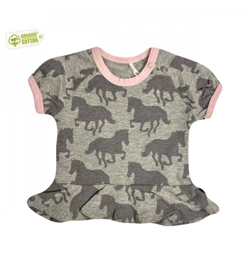 """Pilki marškinėliai """"Arkliukai"""""""