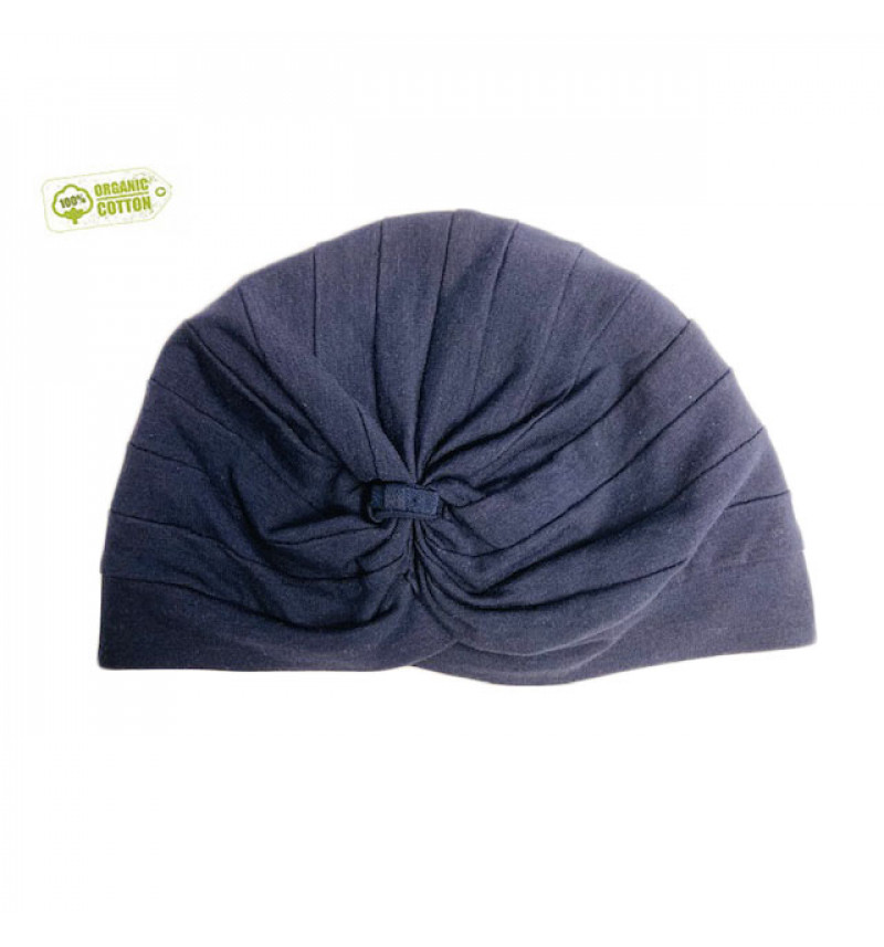 """Puošnni mėlyna kepurė """"Turbanas"""""""