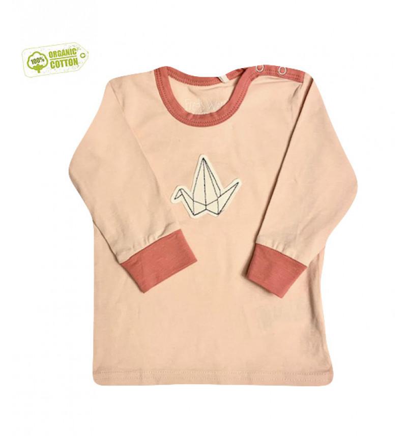 """Rožiniai marškinėliai """"Fredas"""""""