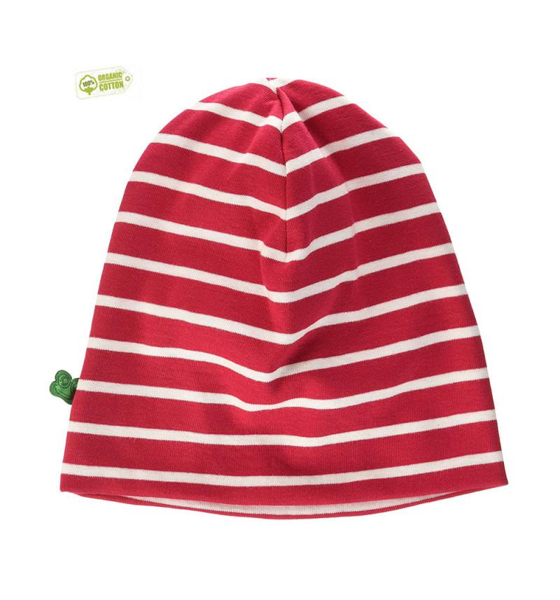 """Raudonai balta kepurė """"Fredas"""""""