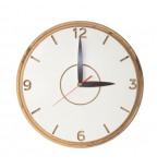 """Apvalus medinis sieninis laikrodis """"Promi"""""""