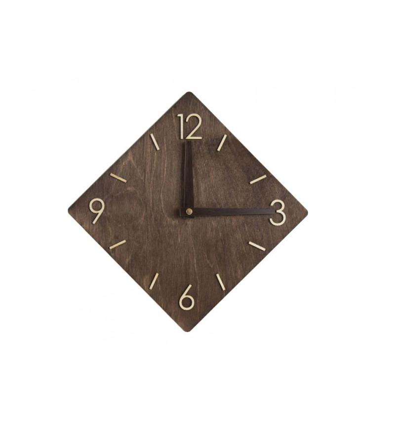 Rombo formos medinis sieninis laikrodis