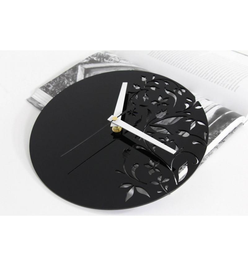 Akrilinio stiklo sieninis laikrodis