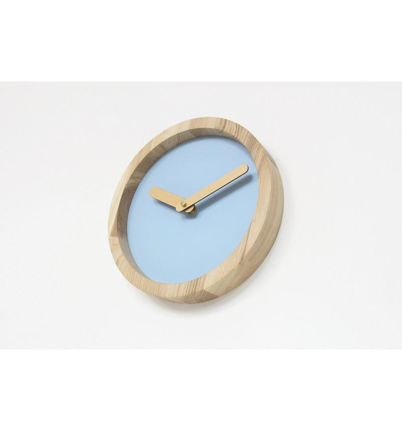 """Šviesus apvalus sieninis laikrodis """"Laikas"""""""