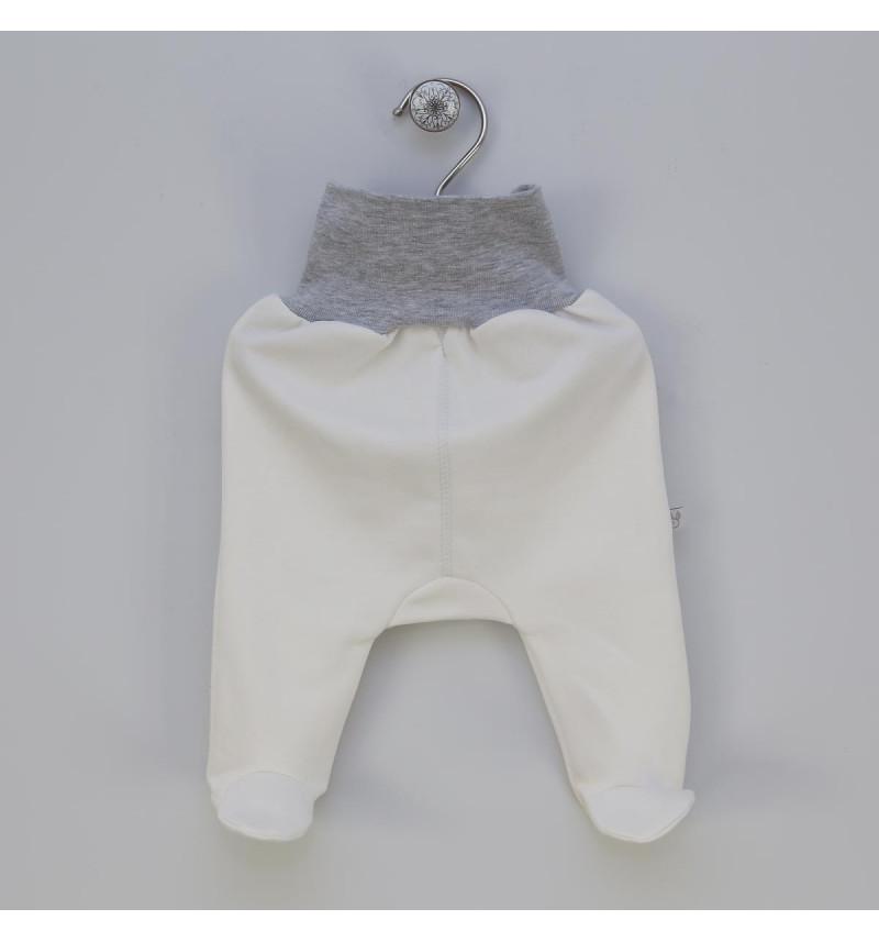 """Vilaurita baltos pašiltintos kelnės su pėdutėmis """"Perla"""""""