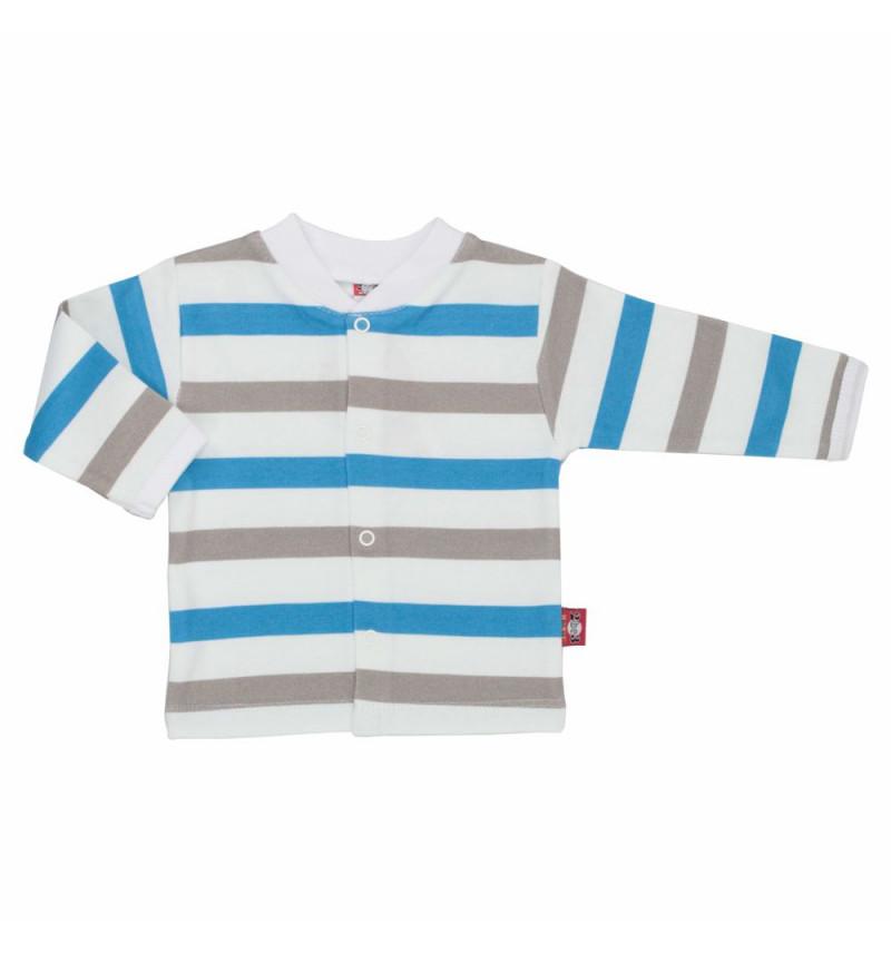 Dryžuoti marškinėliai ilgomis rankovėmis