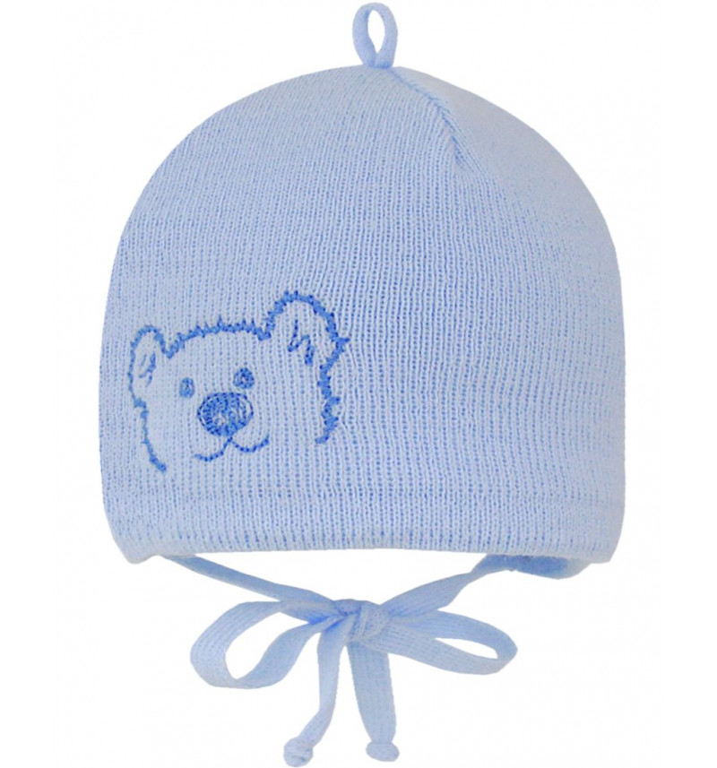"""Mėlyna kepurė """"Meškiukas"""""""