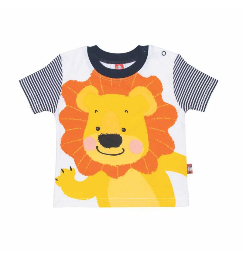 """Marškinėliai dryžuotomis rankovėmis """"Liūtukas"""""""