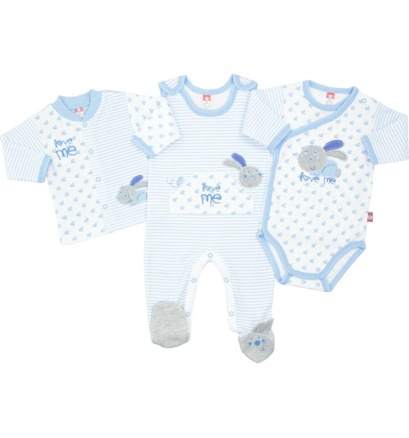Mėlynas kūdikio kraitelis