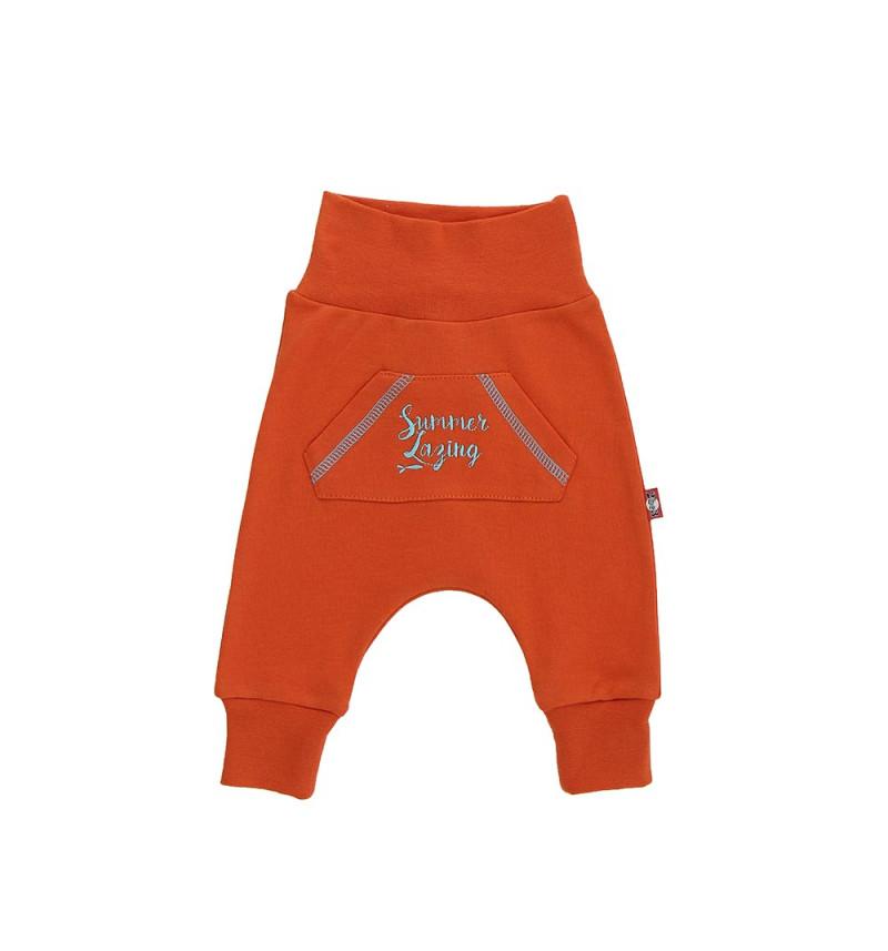 """Oranžinės kelnės """"Begemotukas"""""""