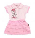 """Rožinė suknelė """"Mergaitė"""""""