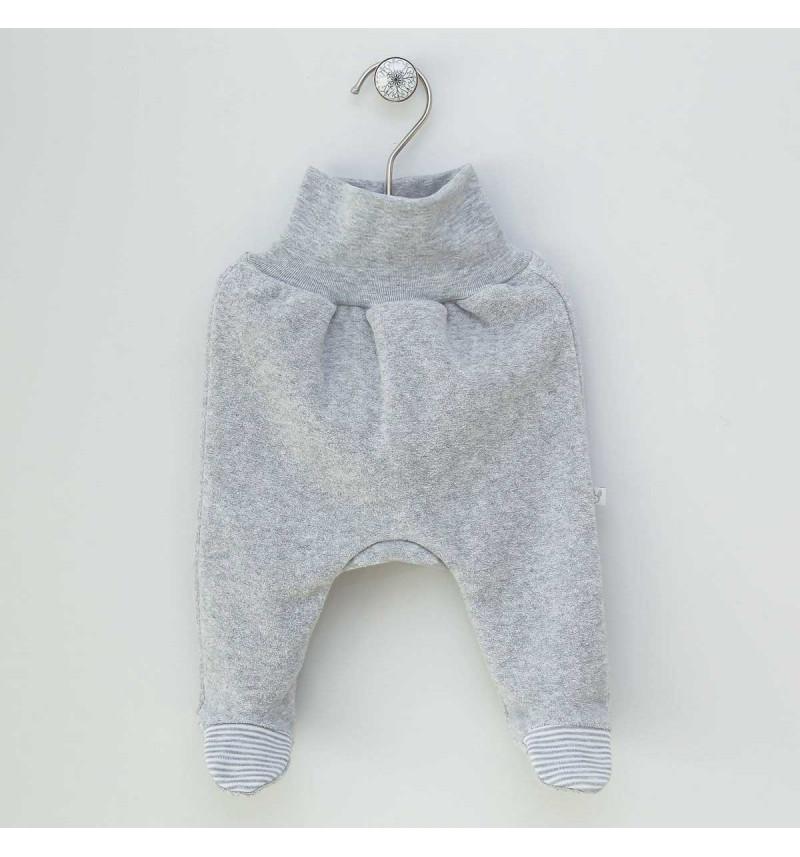 """Vilaurita šiltos pilkos kelnės su pėdutėmis """"Roksi"""""""