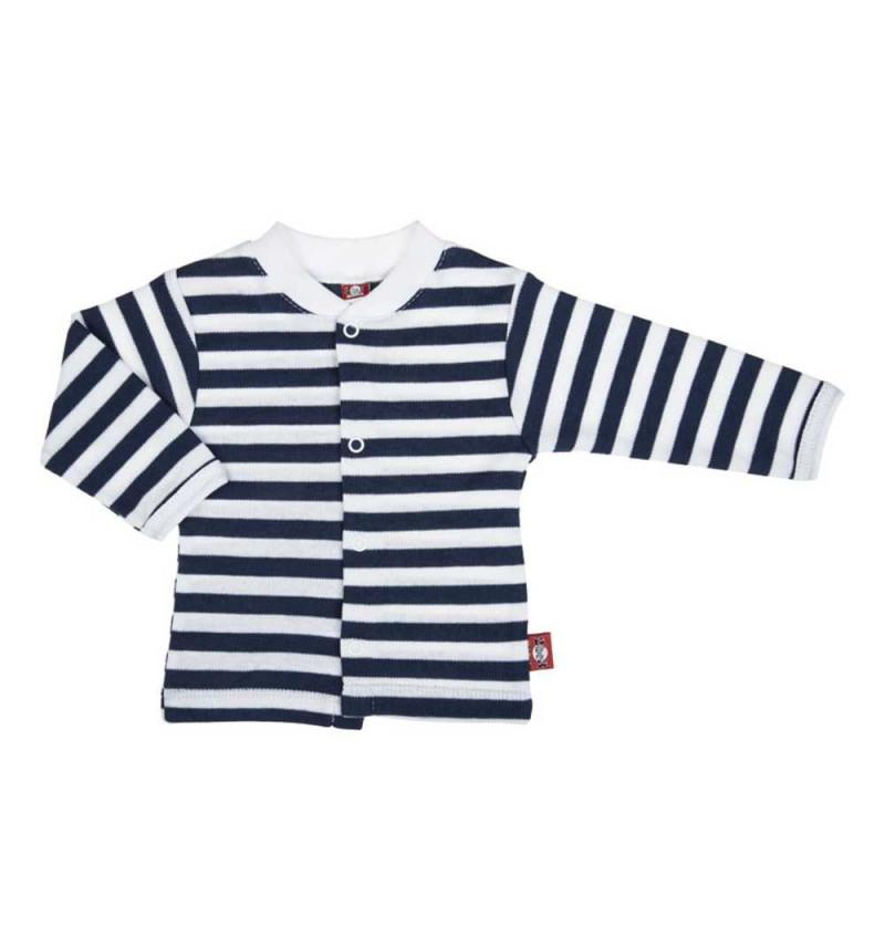 Dryžuoti marškinėliai ilgomis rankovėmis ankstukams