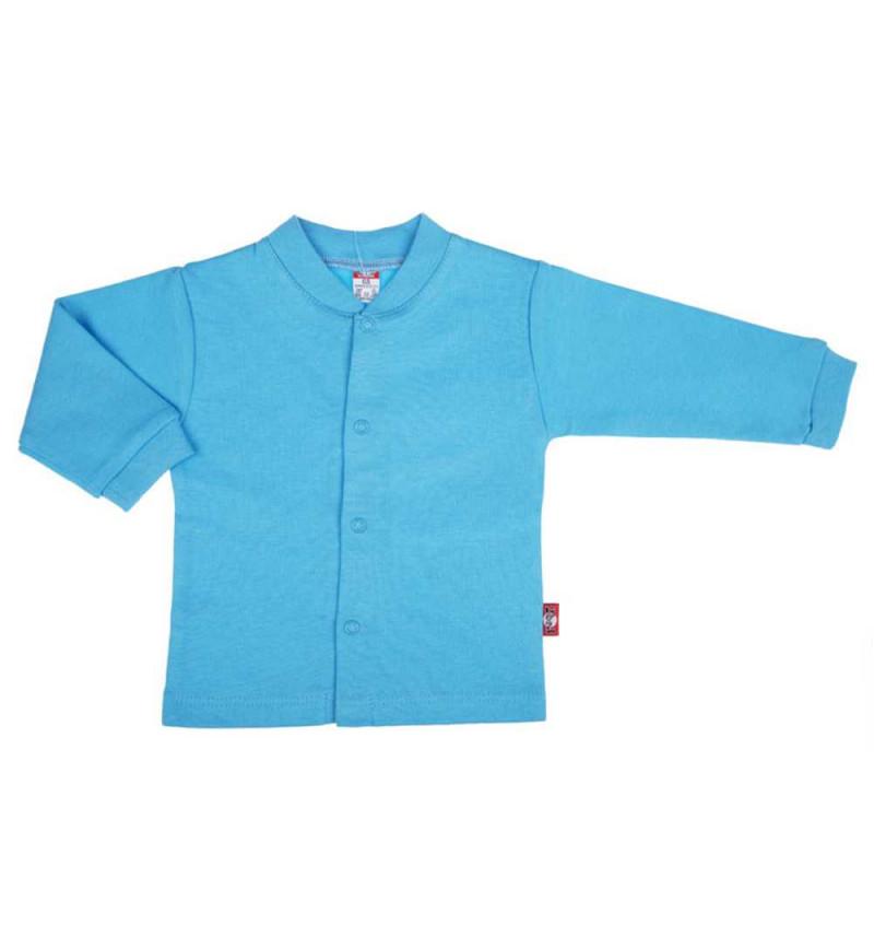 Mėlyni marškinėliai ilgomis rankovėmis