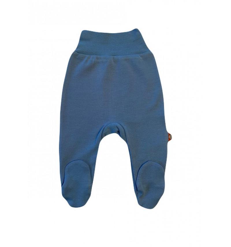 Mėlynos kelnės su pėdutėmis