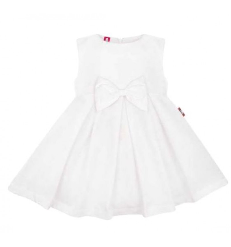 """Puošni balta  suknelė su kaspinu """"Boho"""""""