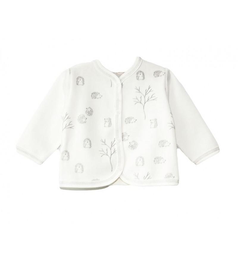 """Vilaurita balti marškinėliai kūdikiui """"Niko"""""""