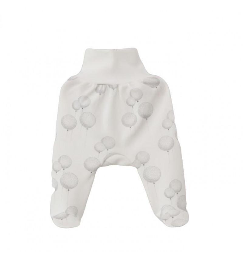 """Vilaurita baltos pašiltintos kelnės su pėdutėmis """"Ballo"""""""