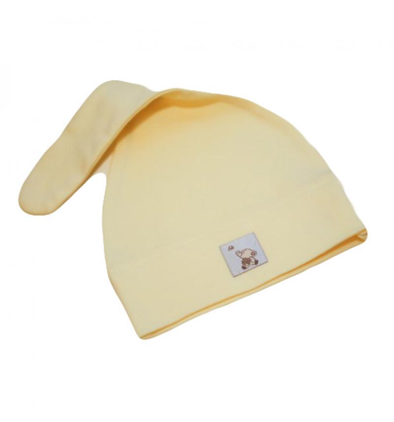 Vilaurita gelsva vasarinė kepurė