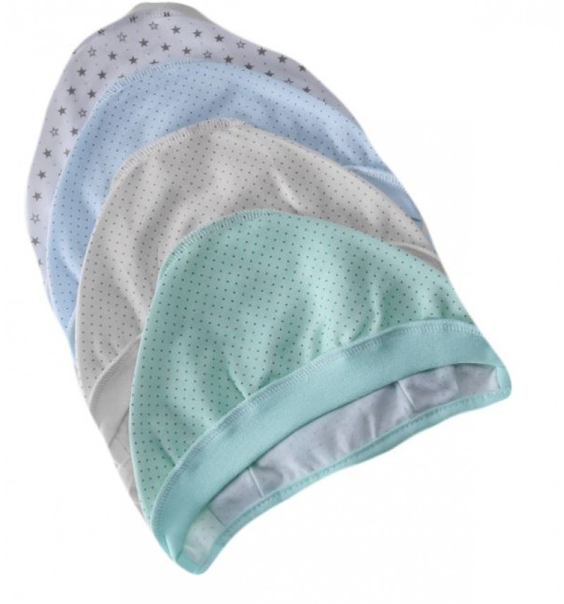 Vilaurita kepuraitė su raišteliais išvirkšiomis siūlėmis