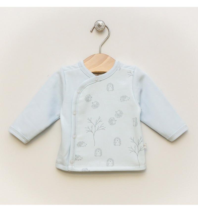 """Vilaurita melsvi marškinėliai kūdikiui """"Edy"""""""