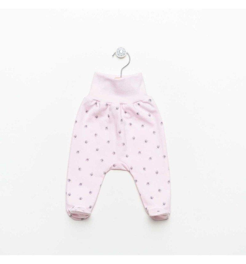 """Vilaurita rožinės pašiltintos kelnės su pėdutėmis """"Lizette"""""""
