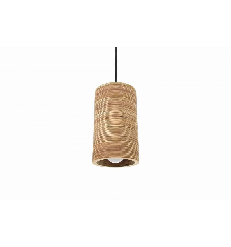 Medinių pakabinamų šviestuvų rinkinys 3 dalių