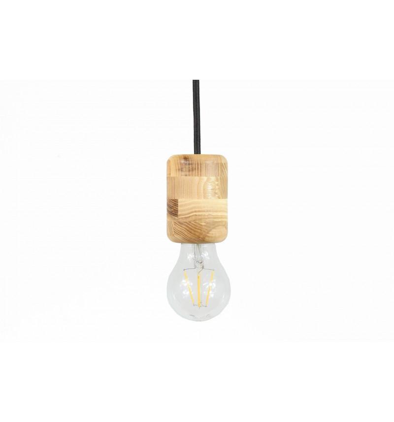 """Pakabinamas medinis šviestuvas """"Retro"""""""
