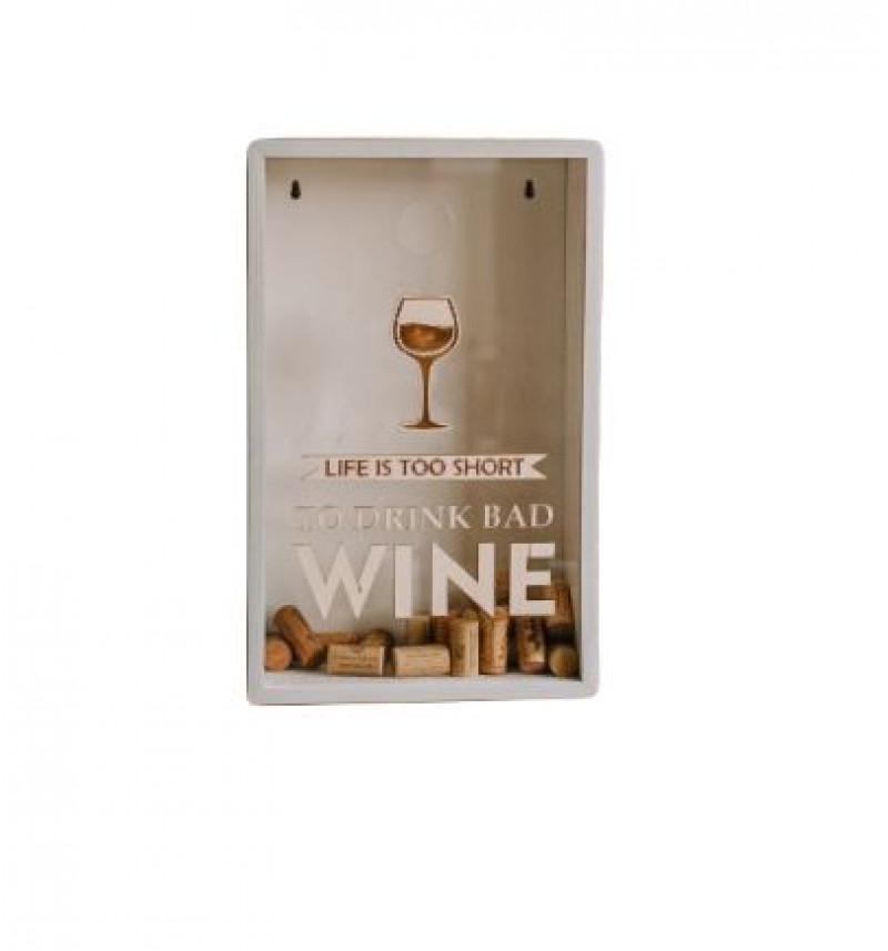 Dėžutė vyno kamščiams