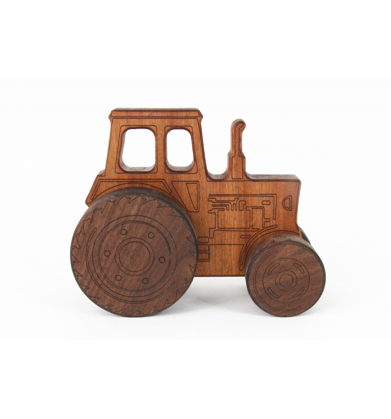 Medinis traktorius